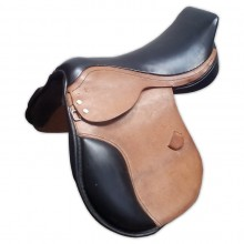 Sela hípica, reforçada, toda em couro legítimo de primeira qualidade, tb usada em polo e provas de apartação.