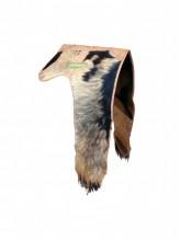 Manta couro de bode costurado e reforçado