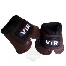 Cloche da VTR, com borracha anti-impacto e revestido em couro, forrado com neoprene